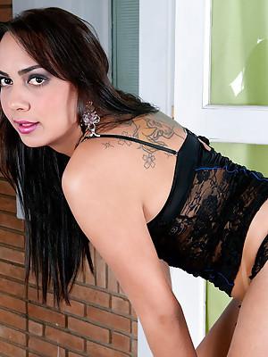 Latin tgirl mega babe